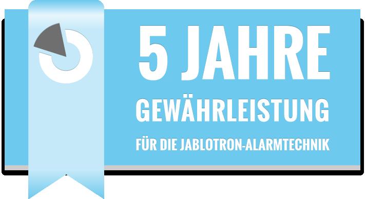 Jablotron_5_Jahre_Garantie