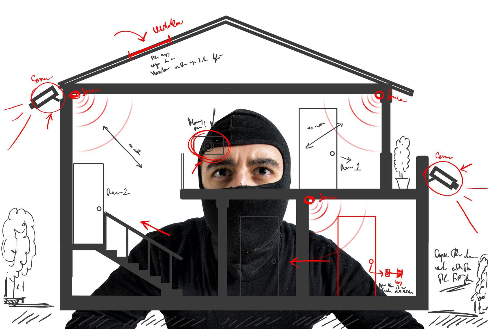 Gib dem Einbrecher keine Chance - alarmanlage-swiss.ch Alarmanlagen