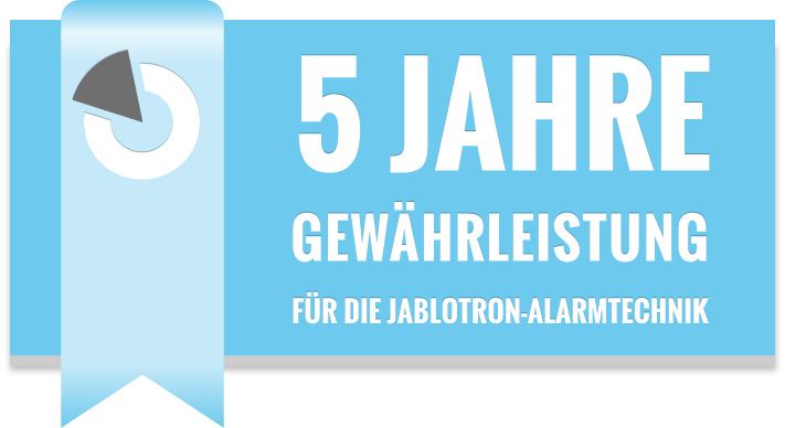 jablotron 5 jahre garantie alarmanlage. Black Bedroom Furniture Sets. Home Design Ideas